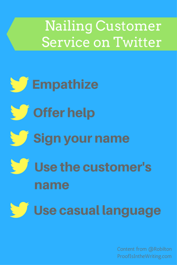 Twitter and customer service
