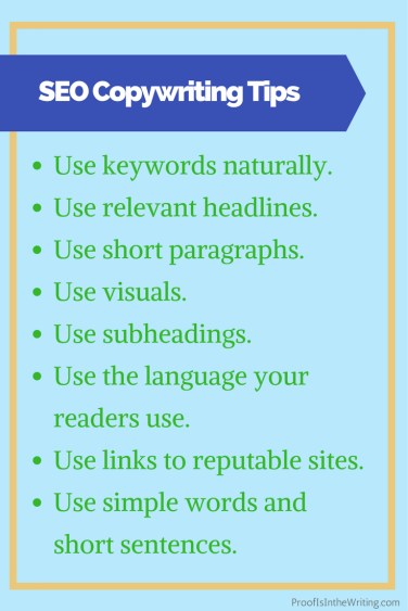 8 SEO copywriting tips that put the reader first before search engines.