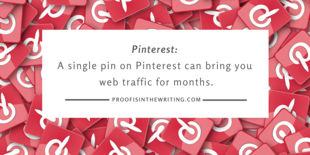 One pin can bring you web traffic for months.