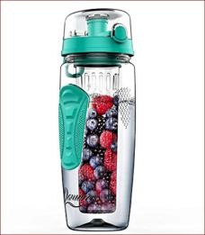 This water bottle will keep your refreshed and hydrated as you work from home.